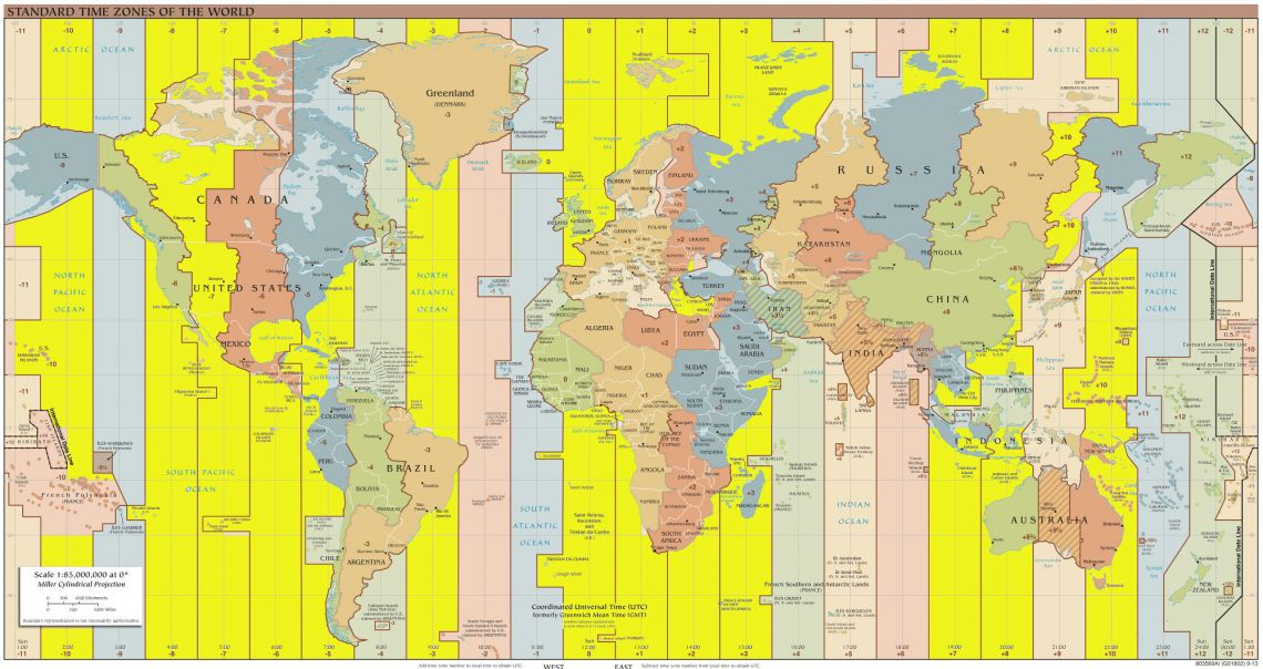 Gmt Time Zone To Central